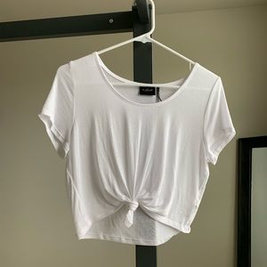 Urban Outfitters Cropped Tee